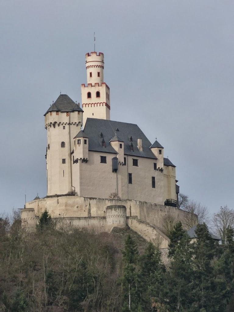 Marksburg, The Best-Preserved Castle On The Rhine